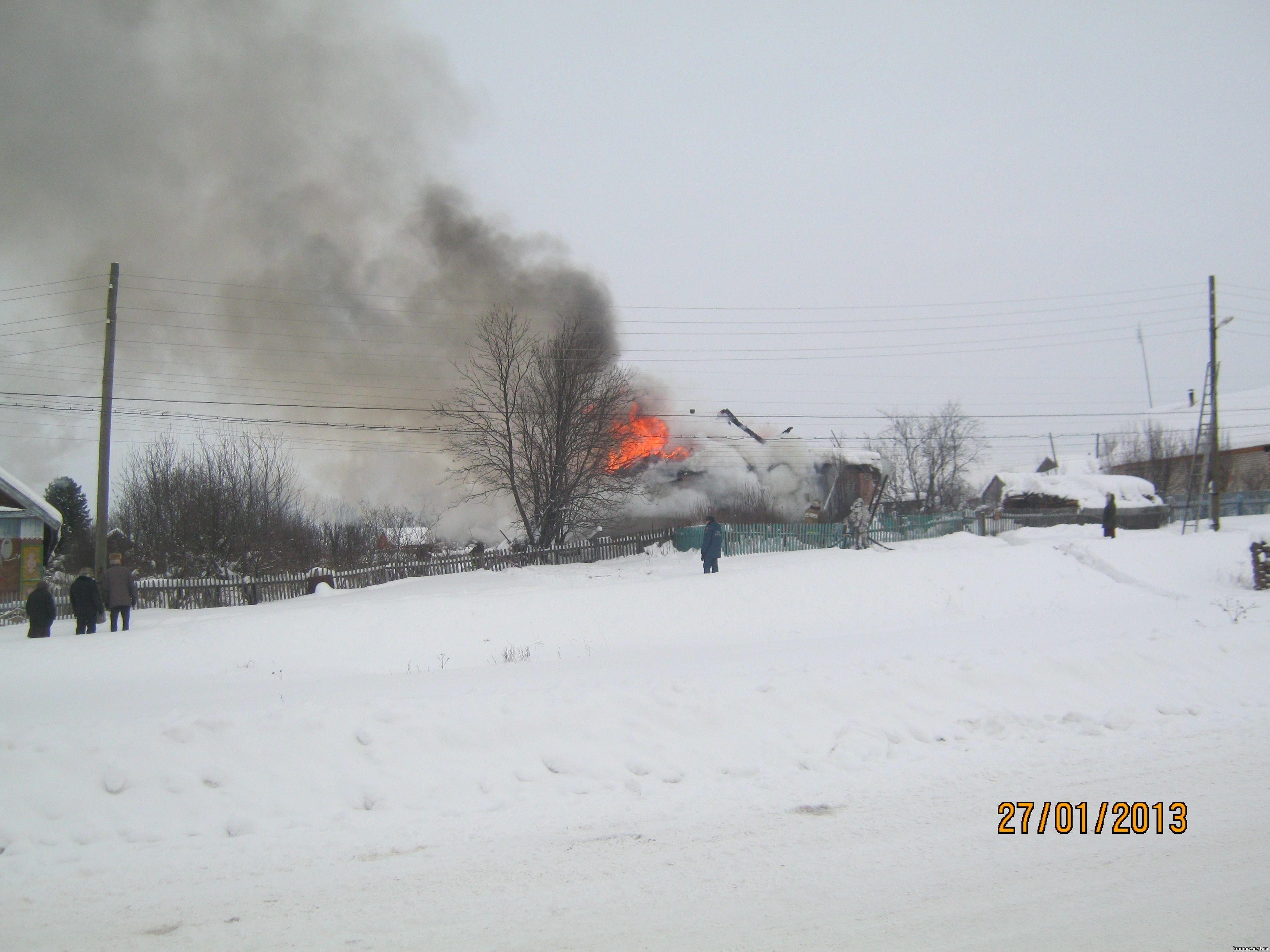 Пожар Первомайская 46