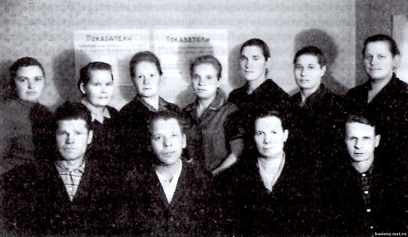 Служащие села Быково
